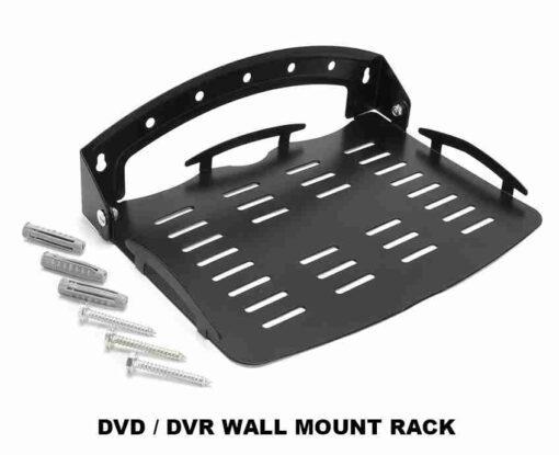 Floating Steel Shelf Wall Mount Bracket Under TV Stand Box DVR DVD