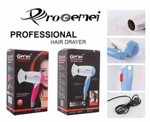 Pro Gemei Mini Hair Straightener GM-2923
