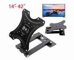TV Wall Mount Bracket 14-42 Inch LED LCD Adjustable Rotatable Stand