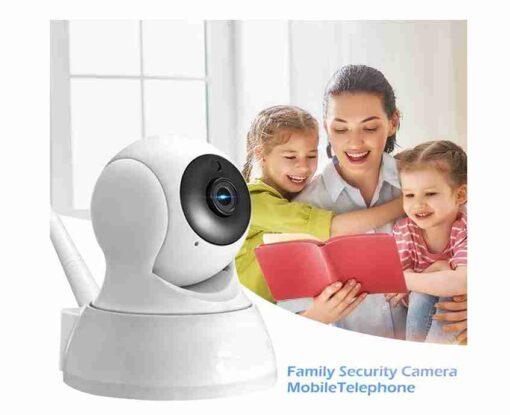Wifi Rotatable CCTV Camera Audio / Video 2MP 1080P