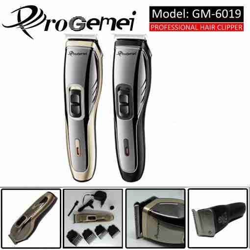 Pro Gemei Rechargable Hair & Beard Trimmer / Clipper Washable GM-6019