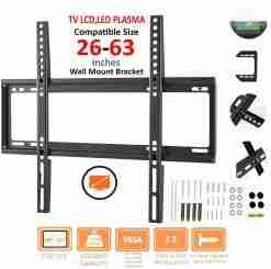 TV Wall Mount Bracket 26 - 63 inch Flat Panel LCD LED Bracket