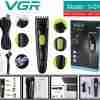 VGR Washable / Rechargeable Hair & Beard Trimmer / Clippers Washable V-019