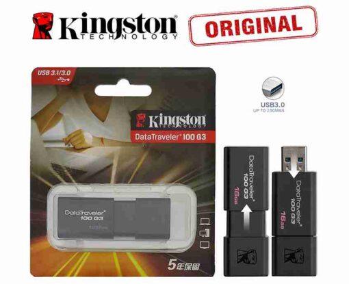 128GB 3.0 Genuine Kingston DT-100-G3 Data Traveler USB Pendrive USB Flash Drive 3.0