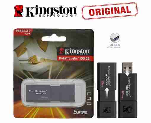 32GB 3.0 Genuine Kingston DT-100-G3 Data Traveler USB Pendrive USB Flash Drive 3.0