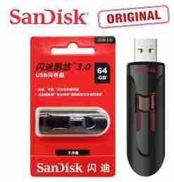 64GB 3.0 SanDisk Cruzer Glide 3.0 USB Pendrive CZ600 USB Flash Drive