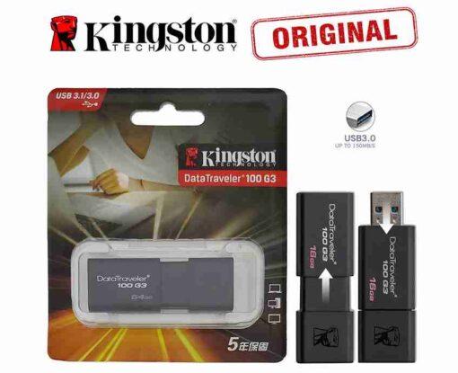 64GB 3.0 Genuine Kingston DT-100-G3 Data Traveler USB Pendrive USB Flash Drive 3.0