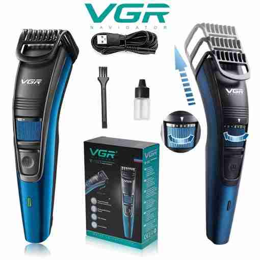VGR V-052 Rechargeable Adjustable Hair & Beard Trimmer & Clippers