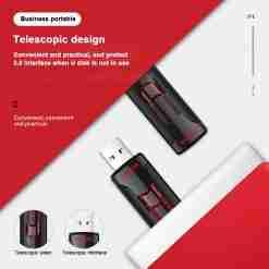 Sandisk cz600 cruzer glide 3 0 usb flash drive pen drive 16gb 32gb 64gb 256gb pendrive 1